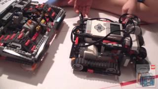Подготовка к фестивалю по робототехнике 2014. Карандаш и Самоделкин