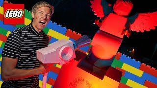 Surviving Scary Lego Graveyard Hotel Lego Hidden Side Challenge