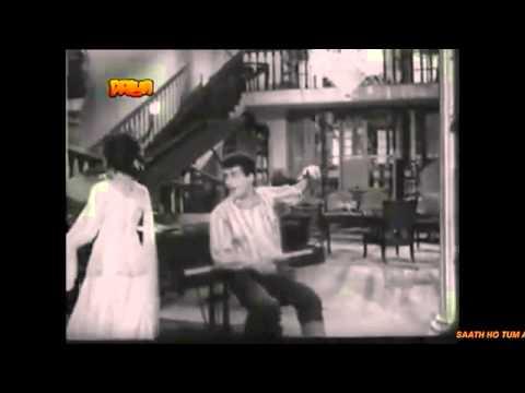 SAATH HO TUM AUR RAAT JAWAN NEEND KISE   Mukesh   Asha   KANCH KI GUDIYA 1961 HQ AUDIO   YouTube