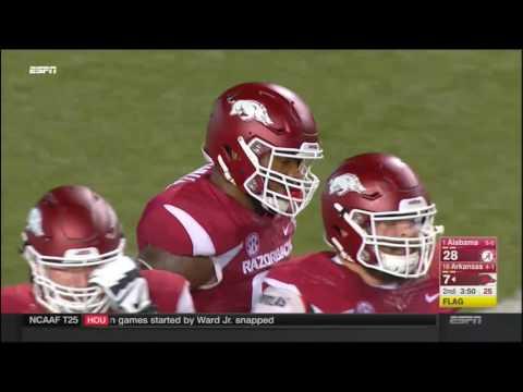 Alabama Crimson Tide at Arkansas Razorbacks in 30 Minutes - 10/8/16