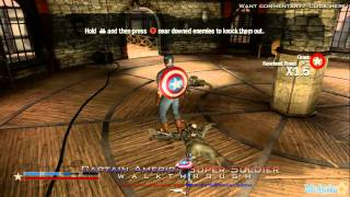 "Captain America: Super Soldier Walkthrough - Chapter 1 ""Stand Alone Together"" Part 1"