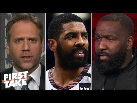 Max Kellerman Agrees With Kendrick Perkins: Kyrie Irving Is A Bad Leader   First Take