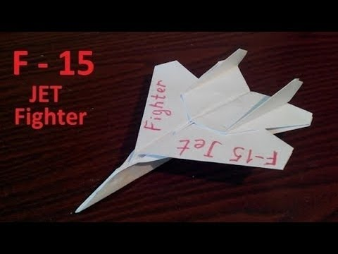 How To Make A Paper Airplane Fly Forever Part 1  YouTube