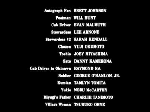 The Karate Kid Part II (1986) - End Credits