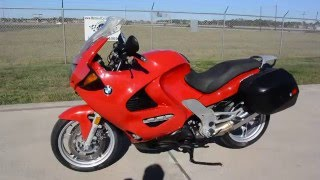 1998 BMW K1200RS Red Sport Touring Motorcycle