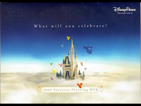 2009 Walt Disney World Vacation Planning DVD - What Will You Celebrate? - InteractiveWDW