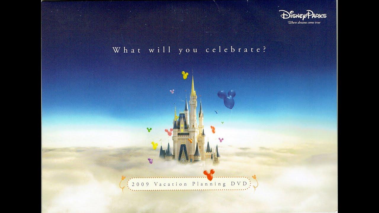 2009 Walt Disney World Vacation Planning Dvd What Will