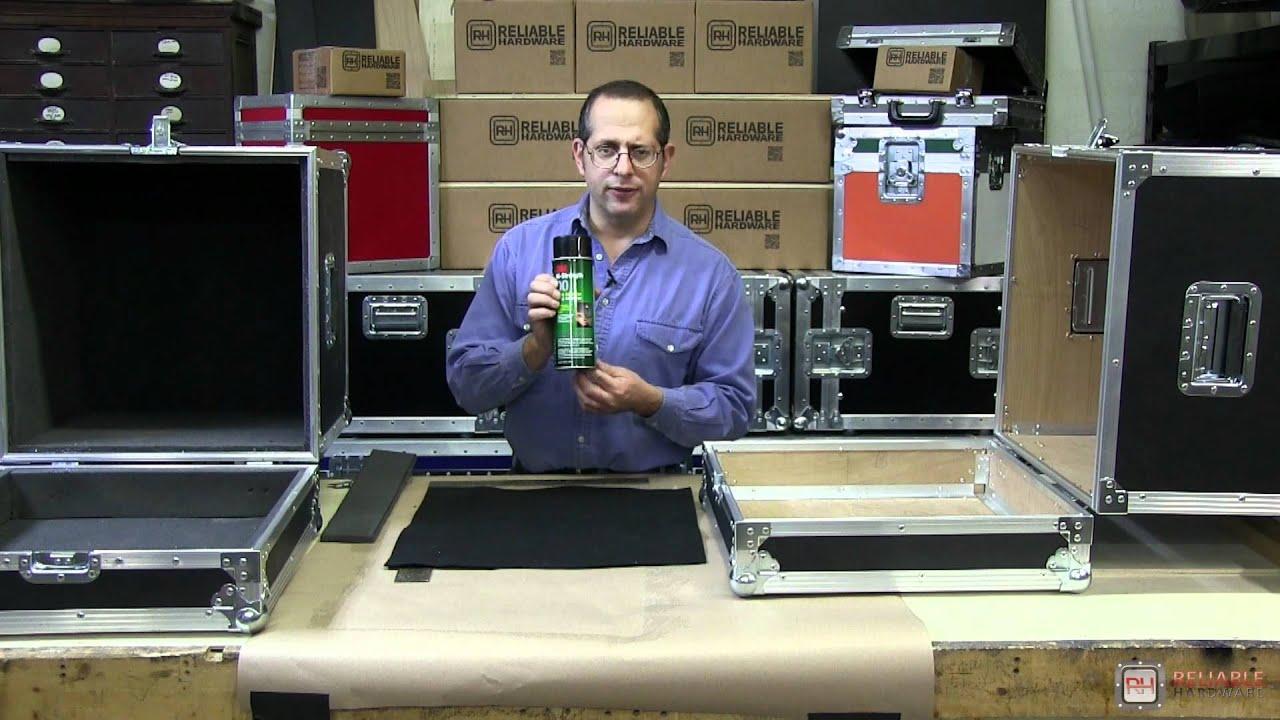 10 Of 11 Diy Road Case Foam Carpet Reliablehardware Com Youtube
