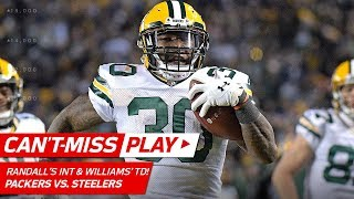 Randall's Big Int Leads To Williams' Td Catch-'n-run! | Can't-miss Play | Nfl Wk 12