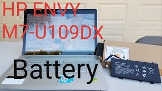 HP Envy M7-U109DX battery replacement