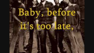 What About Now Lyrics - Daughtry (Acoustic)