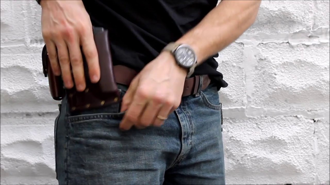 Concealed Carry Pocket Holster For Smith  U0026 Wesson
