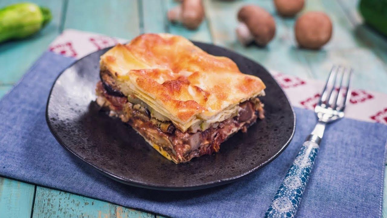 Reteta - Lasagna fara carne | Bucataras TV