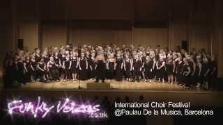 Funky Voices Winning Performance @International Choir Fest - Palau de la Música Catalana, Barcelona