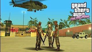 Grand Theft Auto: Vice City (Gta Vice City Army Base) Fight Army - Tommy Kill All ARMY Man