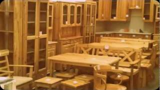 видео мебель из сосны