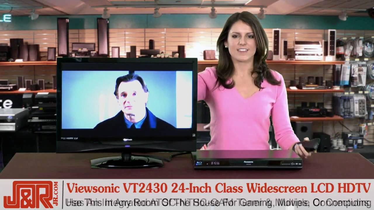 review viewsonic vt2430 24 inch widescreen lcd hdtv youtube. Black Bedroom Furniture Sets. Home Design Ideas
