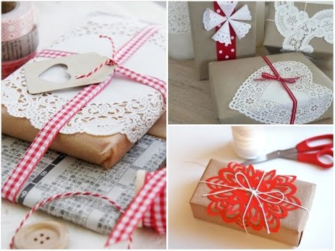 Idee per impacchettare regali di natale diy gift wrapping for Idee regali