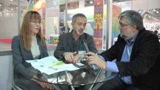 Организаторы международного фестиваля Русский вкус Виктор Майклсон и Наталья Рыбальченко