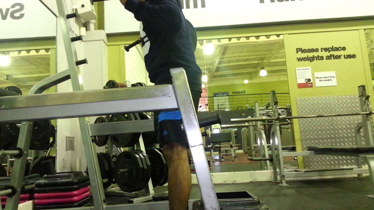 Genial Squats With Top Squat Bar Part 2