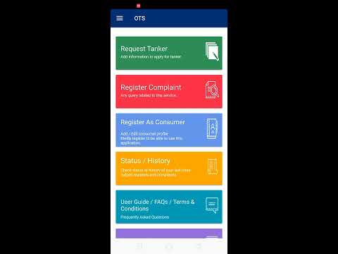 How to book water tanker online through app in very simple steps
