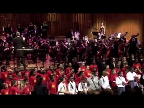Eugene Skeef's Udu Song - with the London Philharmonic Orchestra