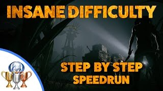 Outlast 2 Insane Difficulty - Full Game Speedrun (1 Battery) - Step by Step Walkthrough & Commentary