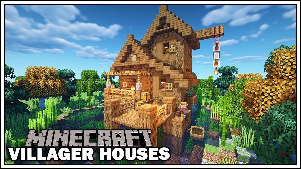 Minecraft Villager Houses - THE FISHERMAN! - [Minecraft Tutorial]