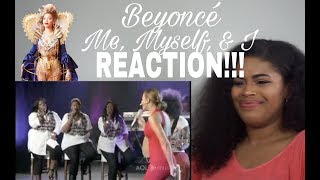 Beyoncé - Me, Myself & I Live AOL Music Sessions l REACTION!!!!