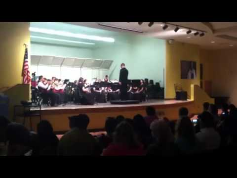 "Villago middle school band 2011 ""epiphany"""