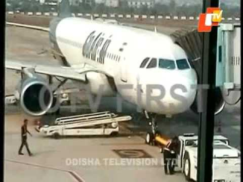 GoAir flight bird-hit
