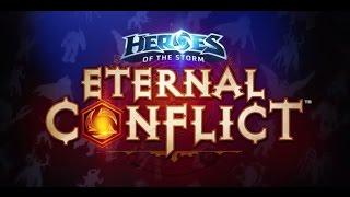 Pierwszy mecz na Eternal Conflict - Nowa Mapa Heroes of the Storm!