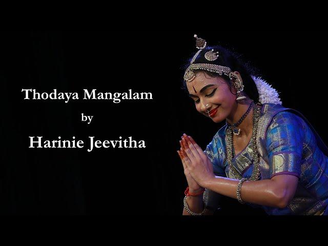 Thodaya Mangalam by Harinie Jeevitha - Sridevi Nrithyalaya - Bharathanatyam Dance