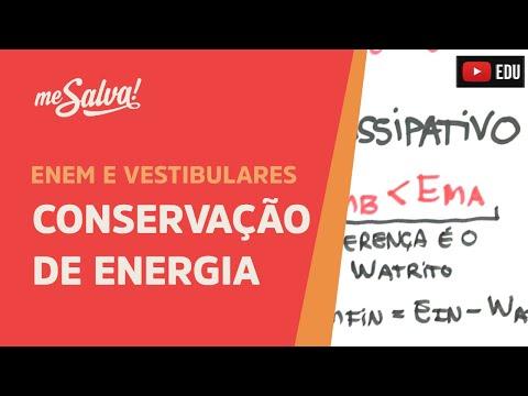 Me Salva! ENE05 - Conservação de Energia (teoria)