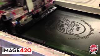 Image 420 Asheville Screenprinters   RelyLocal Asheville Screenprinted T-Shirt Production