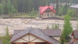 Flooding In Canmore, Alberta - June 20, 2013