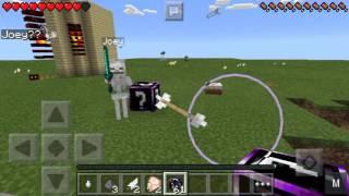 СЛОМАЙ ЛАКИ БЛОК или ЗОМБИ УБИЙЦА в Minecraft PE 0.13.1 : 0.14.0