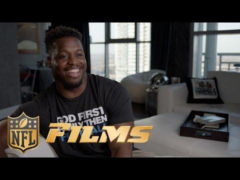 Jonathan Stewart's Home Music Studio  NFL Rush  NFL Films
