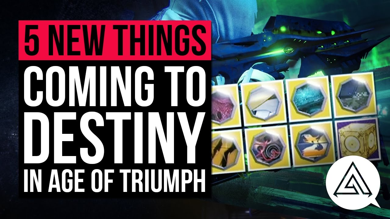 5 new things coming to destiny in age of triumph - ornaments, gear