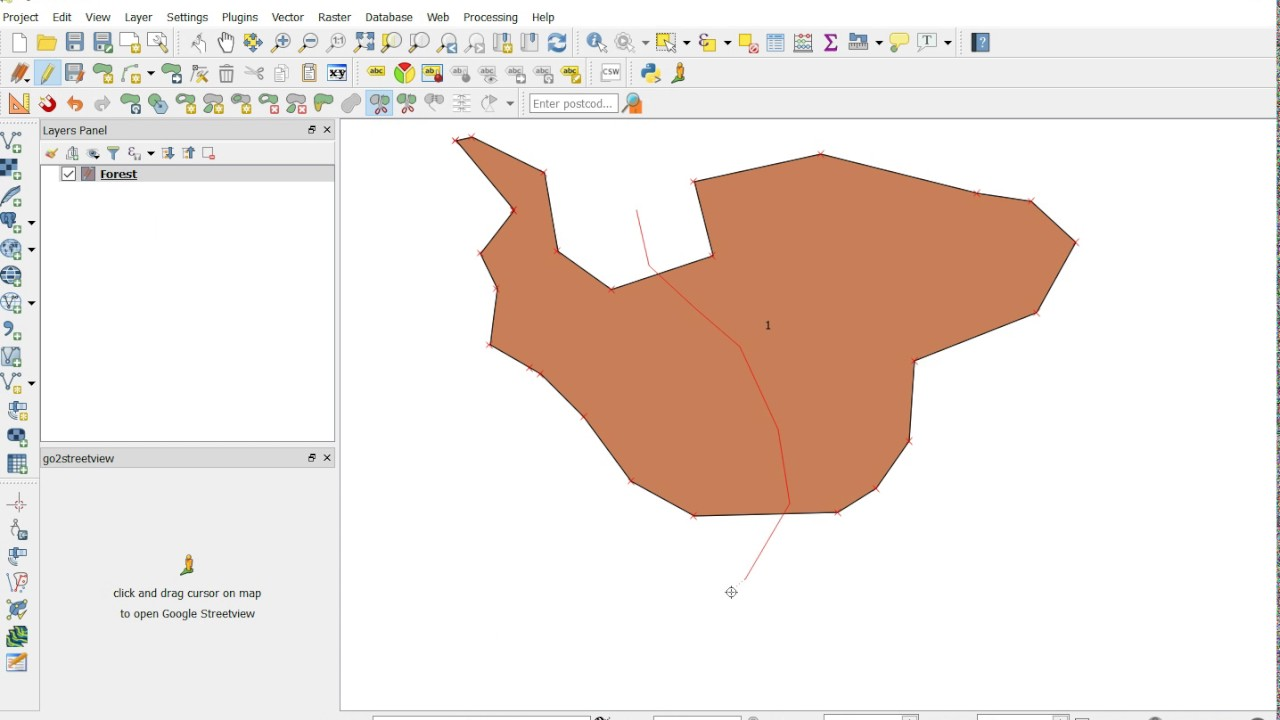 GIS Solutions - QGIS How to create a polygon, cut it and merge