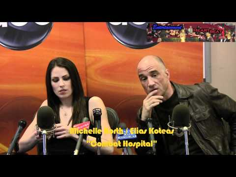 Elias Koteas and Michelle Borth Hit the Ground Running in