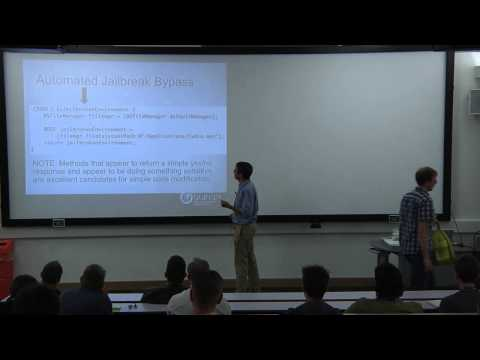 Winston Bond - OWASP Mobile Top Ten 2014 - The New Lack of Binary Protection Category