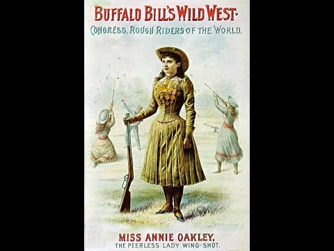 Annie Oakley on Film (1894)