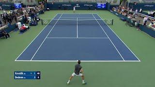 Jozef Kovalik vs. Alijaz Bedene | US Open 2019 R1 Highlights