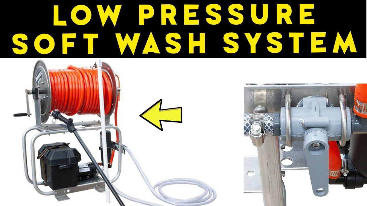 Maverick Soft Wash System Soft Wash Machine For Low