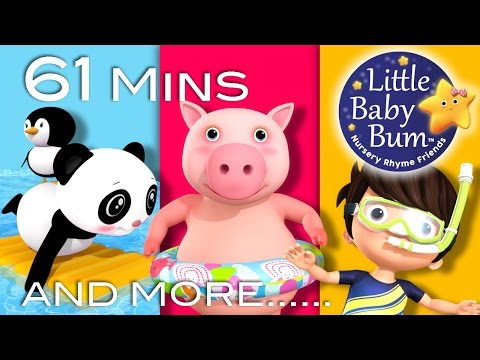 Swimming Song | Part 2 | Plus Lots More Nursery Rhymes | By