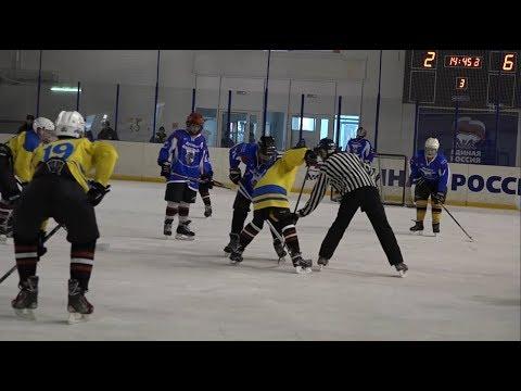 3-й этап V первенства Омской области по хоккею среди дворовых команд «Омские орлята»