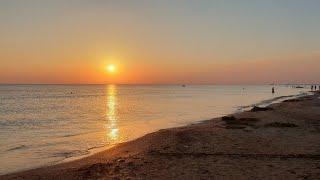 Закат - На Черном Море В Штиль 13.09.2018 #АНАПА
