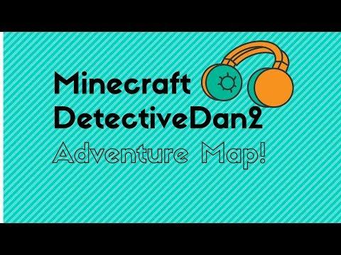 Minecraft | Detective Dan 2 ADVENTURE MAP!