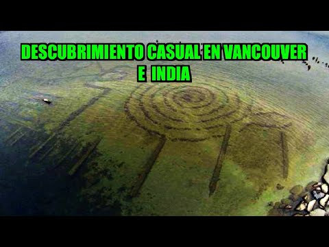 DRONE DESCUBRE POR CASUALIDAD ESTE PETROGLIFO BAJO UN LAGO EN CANADÁ Y CIUDAD ANTIGUA EN INDIA - TVM